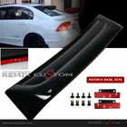 06-11 Honda Civic 4DR Sedan Rear Roof Window Visor Spoiler Wing with Brackets