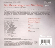 Meistersinger   (Schippers; Lorengar, King, Adam)   (Sony 85304)