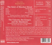 The Saint of Bleecker Street  (2-Naxos 8.111360/61)