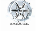 "SS106 Wheel Kits for 12"" ITP MUD LITE XTR"