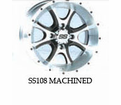 "SS108 Wheel Kits for 12"" Interco Swamp Lite"