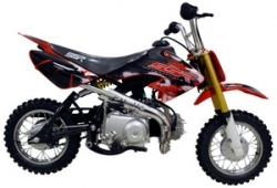 Ssr 70 Pit / Dirt Bike. Free Mx Gloves!