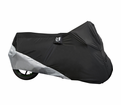 MOTOCENTRIC-MOTOTREK M/C COVER-BLK/SIL - Motocentric - Lowest Price Guaranteed!