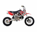 Ssr 125X3 Plus Pit Bike / Dirt Motorcycle with 12/10 or 14/12 Wheel Size. Free Mx Gloves!