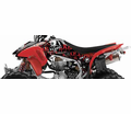 Metal Mulisha Seats & Graphics - Honda Factory Effex Atv Graphic Kits - Seats&Graphics 2011 - Lowest Price Guaranteed!