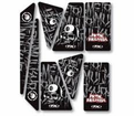 Metal Mulisha Seats & Graphics - Metal Mulisha Universal Trim Kit from Atv-quads-4wheeler.com