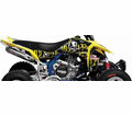 Metal Mulisha Seats & Graphics - Suzuki Factory Effex Atv Graphic Kits from Atv-quads-4wheeler.com