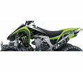 Monster Energy Drink - Kawasaki Factory Effex Atv Graphic Kits - Seats&Graphics 2011 - Lowest Price Guaranteed!