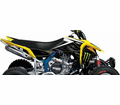 MONSTER ENERGY DRINK - SUZUKI FACTORY EFFEX ATV GRAPHIC KITS - Seats&Graphics 2011 - Lowest Price Guaranteed!