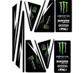 MONSTER ENERGY DRINK - MONSTER ENERGY DRINK UNIVERSAL TRIM KIT - Seats&Graphics 2011 - Lowest Price Guaranteed!