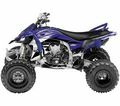 Factory Effex - Factory Yamaha Atv Graphic Kit - Seats&Graphics 2011 - Lowest Price Guaranteed!