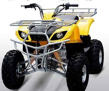 "Jet Moto Series Wrangler-Maxi X9 150cc Sport /Utility ATV -With Larger Size 8"" Tires - Semi- Automatic CVT Transmission with Reverse-  Fast Shipping - FREE Goggles & Gloves! - <h2>#1 Best BUY</h2>"