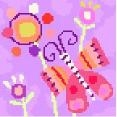 Beautiful Butterfly Needlepoint Canvas
