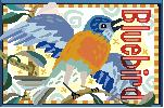 Bluebird Needlepoint Canvas