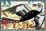 Mockingbird Needlepoint Canvas