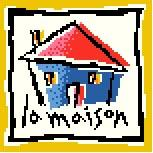 French Lesson - House Needlepoint Canvas