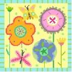 Summer Garden Needlepoint Canvas