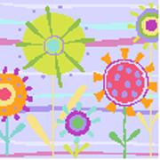 Floret Dawn Needlepoint Canvas