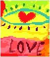First Sight Love Needlepoint Canvas