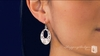 Sterling Silver Circle Earrings - Free Shipping|ShoppingBadger.com