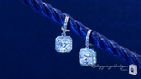 Sterling Silver Cubic Zirconia Vintage Style Earrings