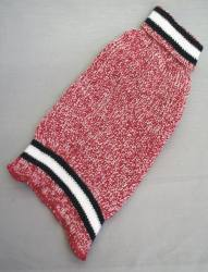 """14"""" Red / Gray Tweed"""
