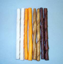 "5"" Flavored Rawhide Stick 8/pk"