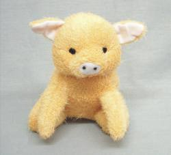 Terry Cloth Pig 8""