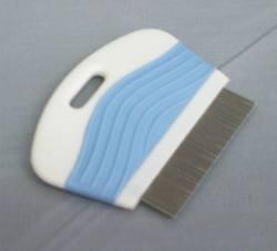 Flea Comb - Arched Back