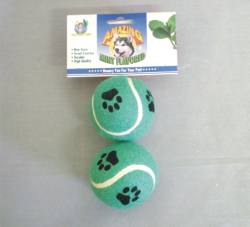 "2.5"" Real Mint Flavor Tennis Balls 2/pk"