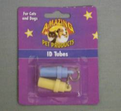 ID Tube - Plastic, Asst. Colors