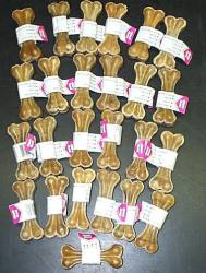 "3.25""  Pressed Mini Bone- Heavy Weight 25/pk"