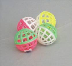 Jingle Lattice Balls  4/pk