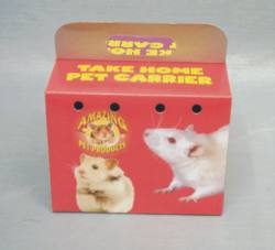 Small Animal Carryout Box