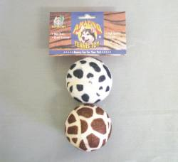 "2.5"" Jungle Print Tennis Balls 2/pk"