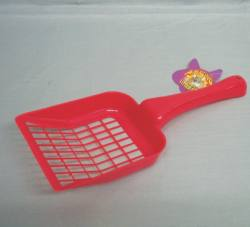 Plastic Litter Scoop  / Asst. Colors
