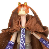 SW TCW BASIC MOC Jar Jar Binks (Jedi Robe) (No. 24)
