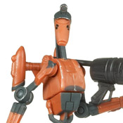 SW TCW BASIC MOC Rocket Battle Droid (No. 25)