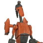 SW TCW BASIC 09P MOC Rocket Battle Droid (CW03)