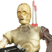 SW TAC SL MOC C-3PO (w/ Battle Droid Head)