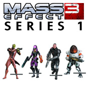 Mass Effect 3 Series 1 Figures<br>by Big Fish Toys