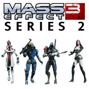 Mass Effect 3 Series 2 Figures<br>by Big Fish Toys