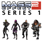 Mass Effect 2 Series 1 Figures<br>by DC Direct