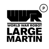 World War Robot Portable (WWRp) Large Martin