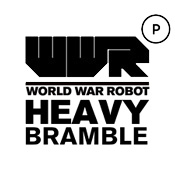 World War Robot Portable (WWRp) Heavy Bramble<br>by 3A-Toys