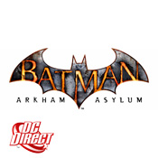 Batman Arkham Asylum Figures<br>by DC Direct