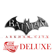 Batman Arkham City Deluxe Figures<br>by DC Direct