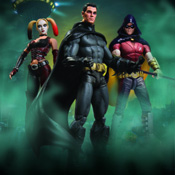 Batman Arkham City Series 1 Figures<br>by DC Direct