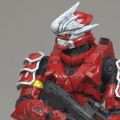 H3 S3 MMK MOC Spartan Soldier Hayabusa (Red)