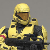 H3 S3 EXC MMK MOC Spartan Soldier ODST (Pale Yellow) (EE-EXC)